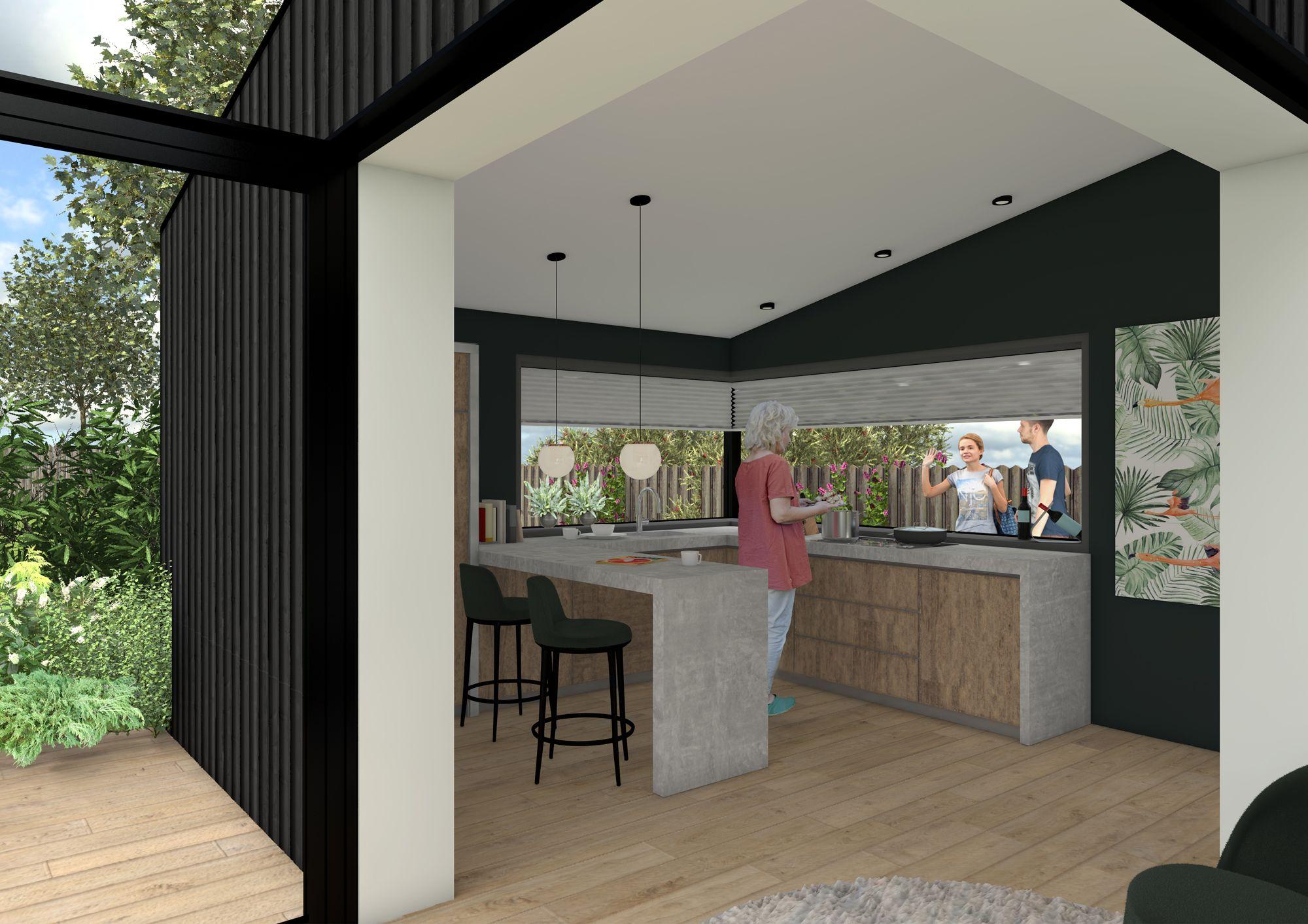 Interieur project compact wonen inspiratieboard compact wonen | Space identity | Interieurvormgeving Tiel
