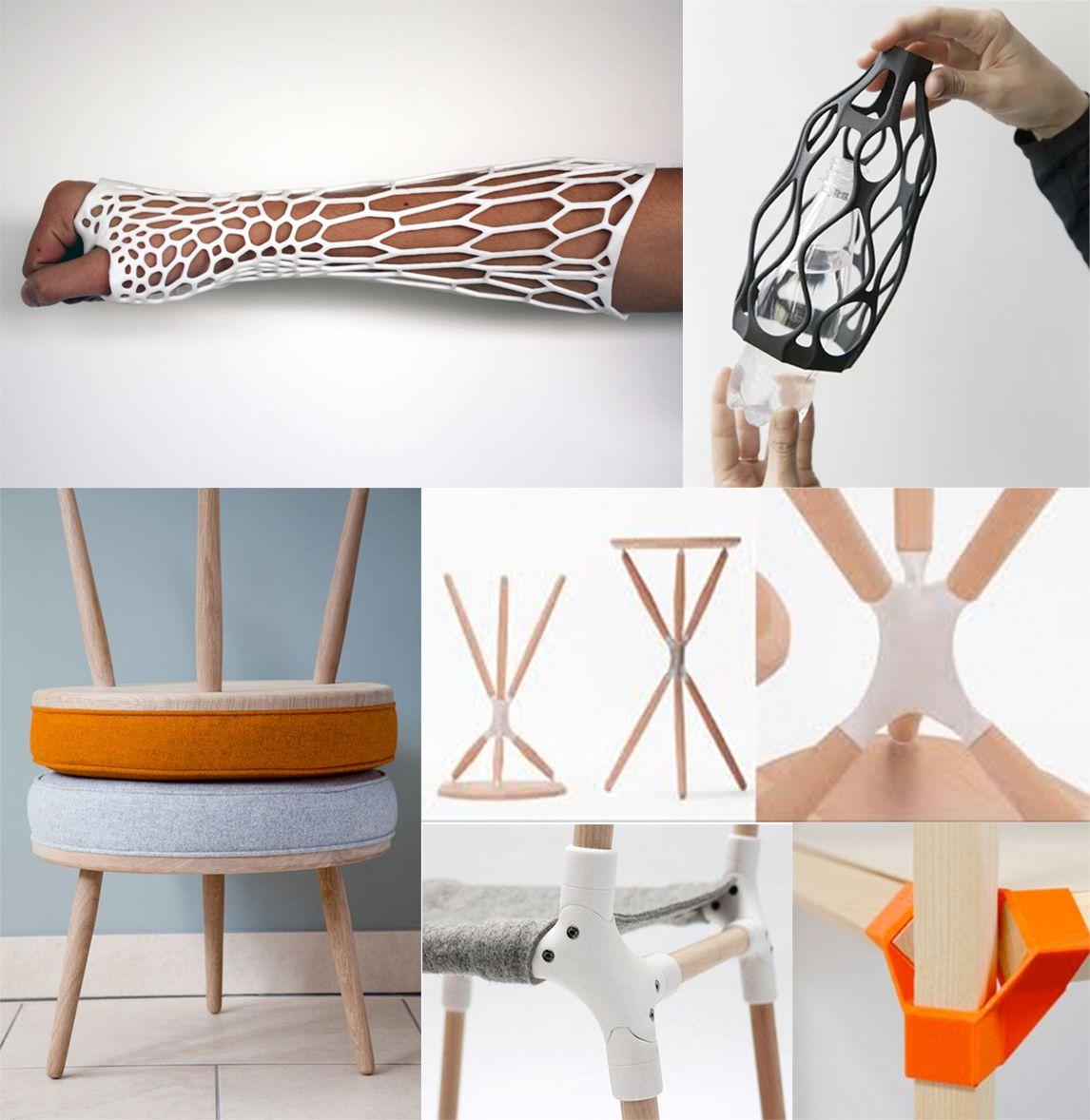 3D spalk, inspiratie voor de Embrace kruk | Space identity | Interieurvormgeving Tiel