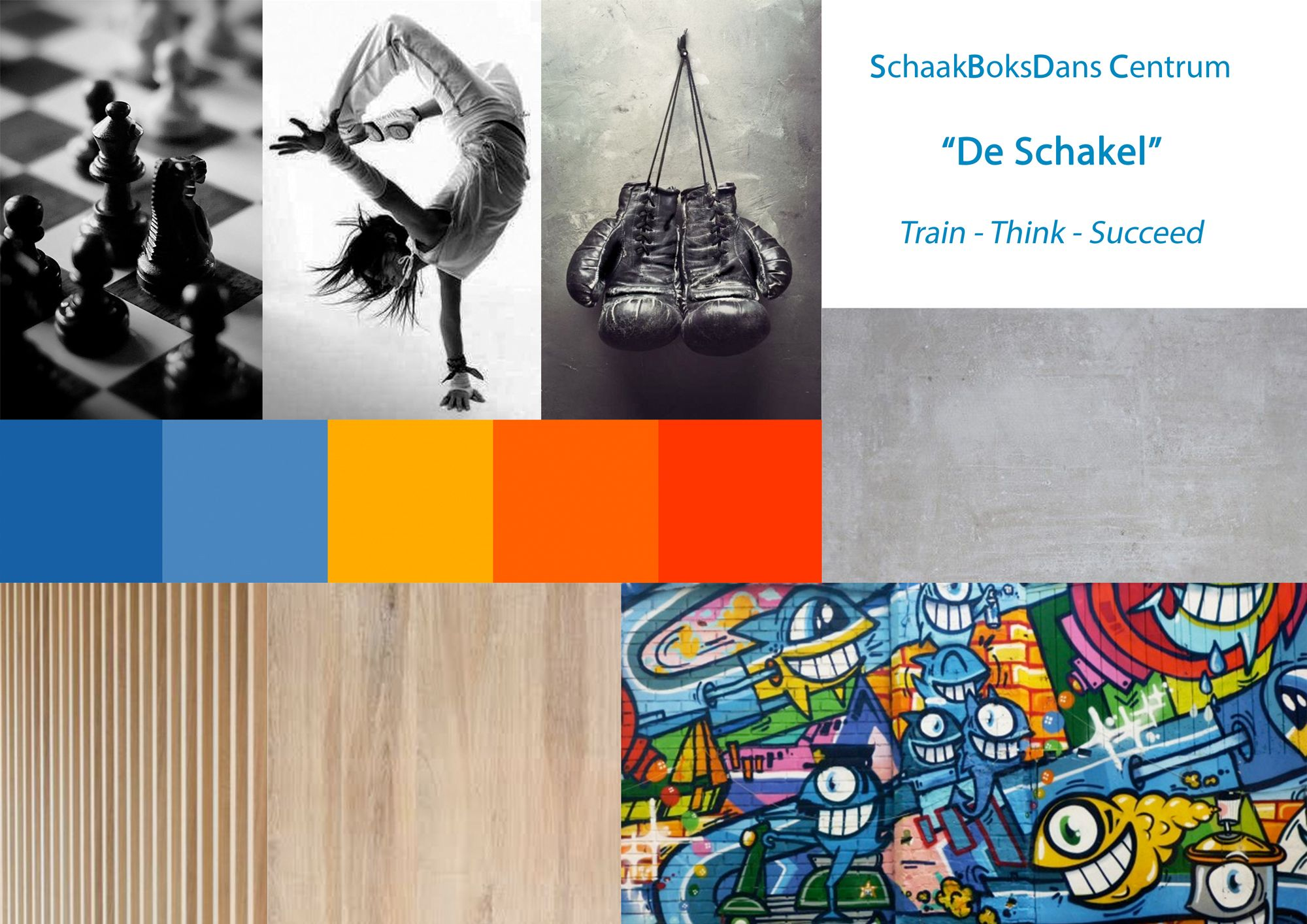 moodboard Schaakboksschool | Space Identity | Interieurvormgeving | Tiel